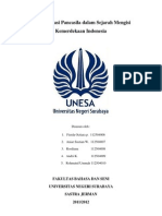 Implementasi Pancasila Dalam Sejarah Kemerdekaan Indonesia