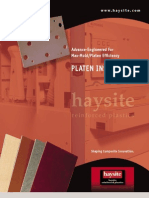 Haysite Thermal Ate Data Sheet