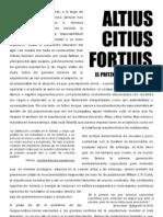 Altius Citius Fortius. El Pritzker de Los Necios_alba Carballal Gandoy
