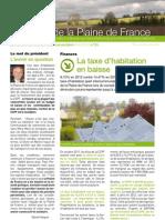 La Lettre de La Plaine de France n24