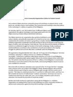 2012.04.26 BAYAN PNW Press Release