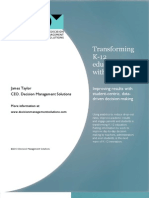 IBM 2010 03-21-2113 Transforming K12 Education Wth Analytics