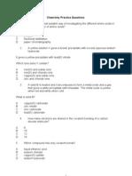 SA1 Chemistry MCQ Practice