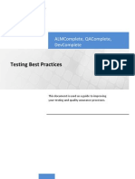 Test Best Practices