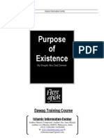 8) Purpose of Existence