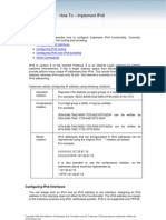 Implement IPv6