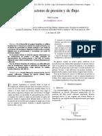 Transductor Flujo-Presion