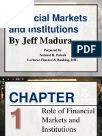 Chap-1 Financial Markets & Institutions