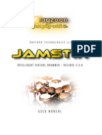 Jamstix3 Manual
