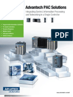 Advantech PAC Solutions Brochure