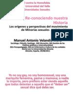 Re-conociendo nuestra Historia. Los orígenes y perspectivas del movimiento de Minorías sexuales  en Colombia