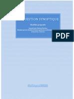 La question synoptique - Modèles proposés