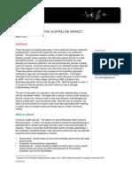 Bond Basics for the Australian Market