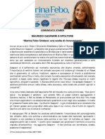 """Giovedì 26 aprile 2012. Maurizio Gasparri a Spoltore. """"Marina Febo Sindaco è una scelta di rinnovamento"""""""