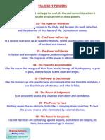 8 Powers - English