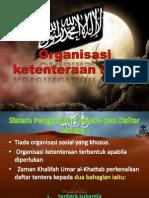 Bab 11 Organisasi Ketenteraan Islam
