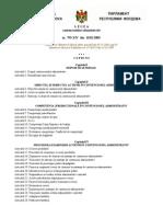 Legea Contenciosului Administrativ a Republicii Moldova