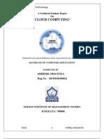 cloudcomputingdocumentationreport-091010032344-phpapp01