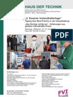 FVI - Essener Instandhaltertage 2012