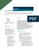 Medical Devices EU Directives
