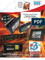 EZSeries Touch Panel Hardware Manual