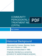 Community Periodontal Index of Treatment Needs (CPITN