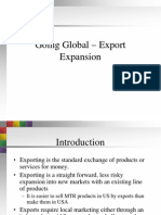 Going Global Export Expansion 3046
