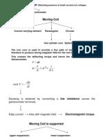 Moving Coil Galvonometer
