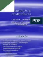 Aulas - jurisdicao competencia 1