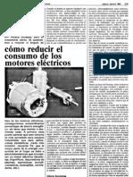 Reducir Consumo en Motores Eklectricos