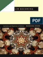 Muslim Becoming by Naveeda Khan