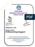 Kisi-Kisi Lomba 2012 IT-Network Support