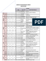 Jadwal Usrah 2012 PDF