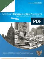 Bappenas 2006 Preliminary DALA Yogyakarta and Central Java Natural Disaster