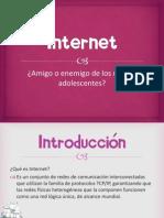 Internet los niños y adolescentessin
