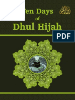En Take Ten of Dhul Hijjah