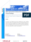 Next Generation Datacentre Cycle II – Cloud findings
