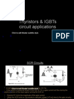 Thyristors & IGBT Circuit Applications
