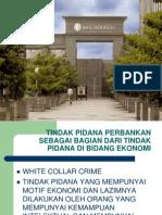 Perbankan 10 - Tindak Pidana Perbankan