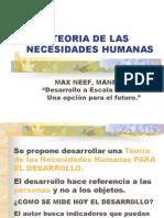 Max - Neef- Teoria de Necesidades Humanas[1]
