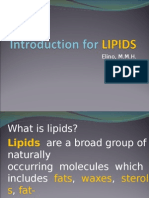 LIPIDS Report