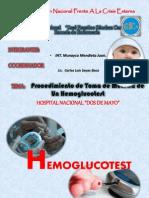 Expo de Hemoglucotest