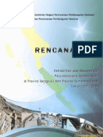 Rencana Aksi Rehabilitasi Rekonstruksi Pascabencana Provinsi Bengkulu dan Provinsi Sumatera Barat 2007-2009
