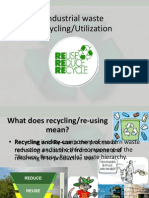 Our Envi-Industrial Waste Recycling