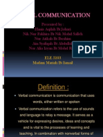 Verbal Communication Presentation