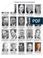 Portraits of Past Council on Foreign Relations Members