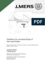 Guidelines for Conceptual Design Short Span Bridges