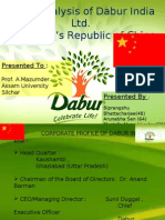 Dabur China