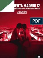 Documenta Madrid 2012 Catálogo