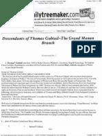 Guptill Genealogy